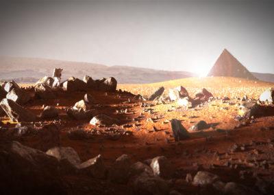 Mars Lanscape