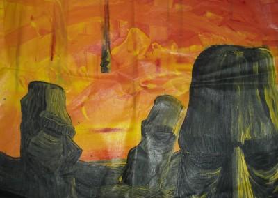 Ruin (Acrylic)