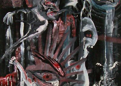 Fear (acrylic)